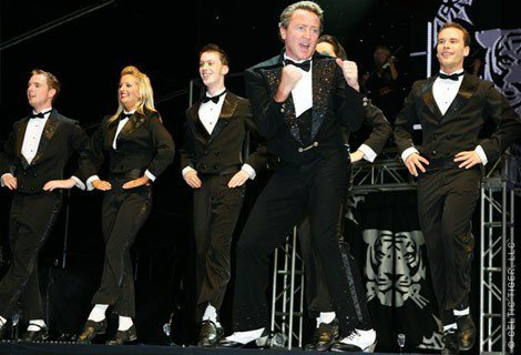Mark Hennessey Michael Flatley Celtic Tiger